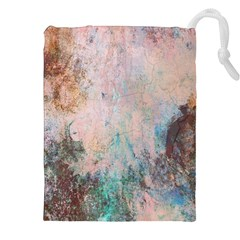 Cold Stone Abstract Drawstring Pouches (xxl) by digitaldivadesigns