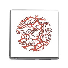 Twenty One Pilots Tear In My Heart Soysauce Remix Memory Card Reader (square) by Onesevenart