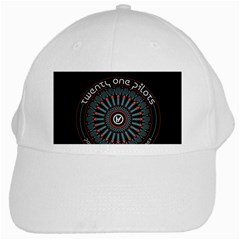 Twenty One Pilots White Cap by Onesevenart