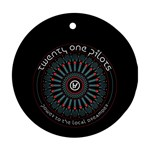 Twenty One Pilots Ornament (Round)