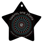 Twenty One Pilots Ornament (Star)