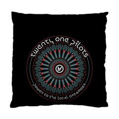 Twenty One Pilots Standard Cushion Case (one Side) by Onesevenart