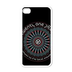Twenty One Pilots Apple Iphone 4 Case (white) by Onesevenart