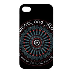 Twenty One Pilots Apple Iphone 4/4s Premium Hardshell Case by Onesevenart