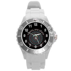 Twenty One Pilots Round Plastic Sport Watch (l) by Onesevenart