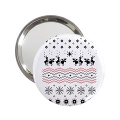 Ugly Christmas Humping 2 25  Handbag Mirrors by Onesevenart