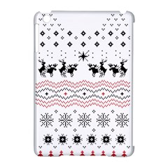Ugly Christmas Humping Apple Ipad Mini Hardshell Case (compatible With Smart Cover) by Onesevenart