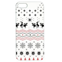 Ugly Christmas Humping Apple Iphone 5 Hardshell Case With Stand by Onesevenart