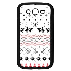 Ugly Christmas Humping Samsung Galaxy Grand Duos I9082 Case (black) by Onesevenart