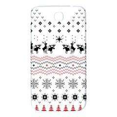 Ugly Christmas Humping Samsung Galaxy Mega I9200 Hardshell Back Case by Onesevenart