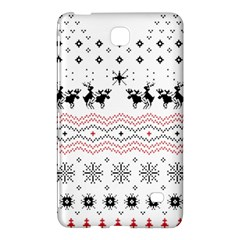 Ugly Christmas Humping Samsung Galaxy Tab 4 (8 ) Hardshell Case  by Onesevenart