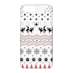 Ugly Christmas Humping Apple Iphone 7 Plus Hardshell Case by Onesevenart