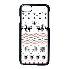 Ugly Christmas Humping Apple Iphone 7 Seamless Case (black) by Onesevenart
