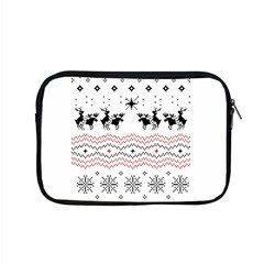 Ugly Christmas Humping Apple Macbook Pro 15  Zipper Case by Onesevenart