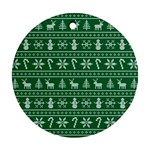 Ugly Christmas Ornament (Round)