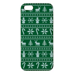 Ugly Christmas Iphone 5s/ Se Premium Hardshell Case by Onesevenart
