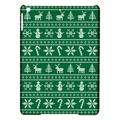 Ugly Christmas Ipad Air Hardshell Cases by Onesevenart