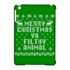 Ugly Christmas Sweater Apple Ipad Mini Hardshell Case (compatible With Smart Cover) by Onesevenart