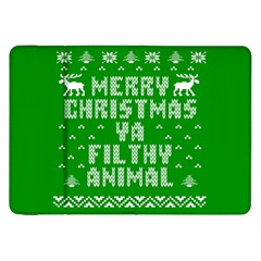 Ugly Christmas Sweater Samsung Galaxy Tab 8 9  P7300 Flip Case by Onesevenart