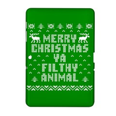 Ugly Christmas Sweater Samsung Galaxy Tab 2 (10 1 ) P5100 Hardshell Case  by Onesevenart