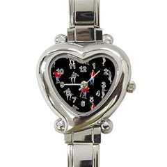 Drake Ugly Holiday Christmas Heart Italian Charm Watch by Onesevenart