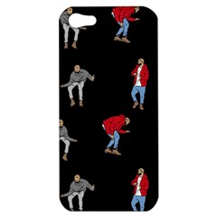 Drake Ugly Holiday Christmas Apple Iphone 5 Hardshell Case by Onesevenart