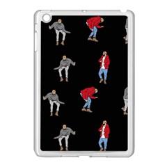 Drake Ugly Holiday Christmas Apple Ipad Mini Case (white) by Onesevenart