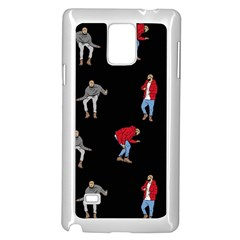 Drake Ugly Holiday Christmas Samsung Galaxy Note 4 Case (white) by Onesevenart