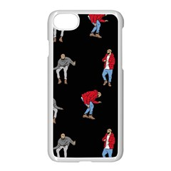 Drake Ugly Holiday Christmas Apple Iphone 7 Seamless Case (white) by Onesevenart