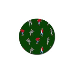 Drake Ugly Holiday Christmas Golf Ball Marker (4 Pack) by Onesevenart