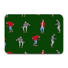 Drake Ugly Holiday Christmas Plate Mats by Onesevenart