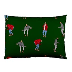 Drake Ugly Holiday Christmas Pillow Case by Onesevenart