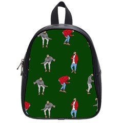 Drake Ugly Holiday Christmas School Bags (small)  by Onesevenart