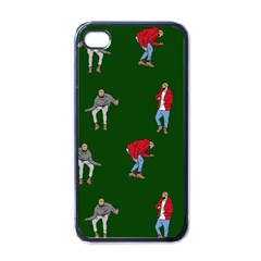 Drake Ugly Holiday Christmas Apple Iphone 4 Case (black) by Onesevenart
