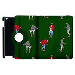 Drake Ugly Holiday Christmas Apple Ipad 3/4 Flip 360 Case by Onesevenart