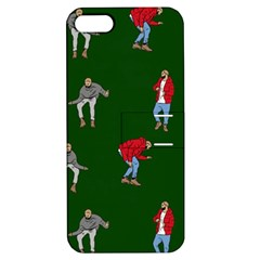 Drake Ugly Holiday Christmas Apple Iphone 5 Hardshell Case With Stand by Onesevenart