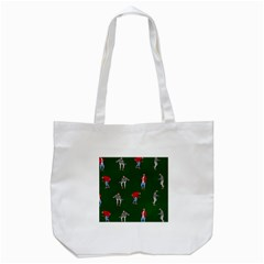 Drake Ugly Holiday Christmas Tote Bag (white) by Onesevenart