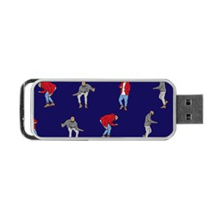 Drake Ugly Holiday Christmas Portable Usb Flash (two Sides) by Onesevenart