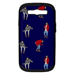 Drake Ugly Holiday Christmas Samsung Galaxy S Iii Hardshell Case (pc+silicone) by Onesevenart