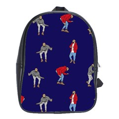 Drake Ugly Holiday Christmas School Bags (xl)  by Onesevenart