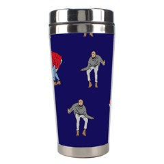 Drake Ugly Holiday Christmas Stainless Steel Travel Tumblers by Onesevenart