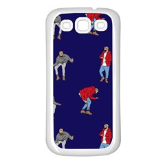 Drake Ugly Holiday Christmas Samsung Galaxy S3 Back Case (white) by Onesevenart