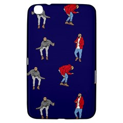 Drake Ugly Holiday Christmas Samsung Galaxy Tab 3 (8 ) T3100 Hardshell Case  by Onesevenart