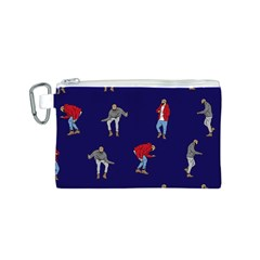 Drake Ugly Holiday Christmas Canvas Cosmetic Bag (s) by Onesevenart