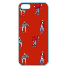 Drake Ugly Holiday Christmas Apple Seamless Iphone 5 Case (color) by Onesevenart