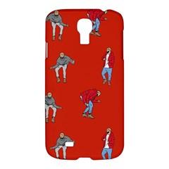 Drake Ugly Holiday Christmas Samsung Galaxy S4 I9500/i9505 Hardshell Case by Onesevenart