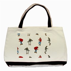 Drake Ugly Holiday Christmas Basic Tote Bag by Onesevenart