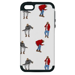 Drake Ugly Holiday Christmas Apple Iphone 5 Hardshell Case (pc+silicone) by Onesevenart