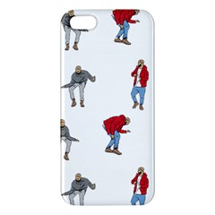 Drake Ugly Holiday Christmas Apple Iphone 5 Premium Hardshell Case by Onesevenart