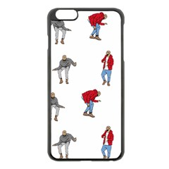 Drake Ugly Holiday Christmas Apple Iphone 6 Plus/6s Plus Black Enamel Case by Onesevenart